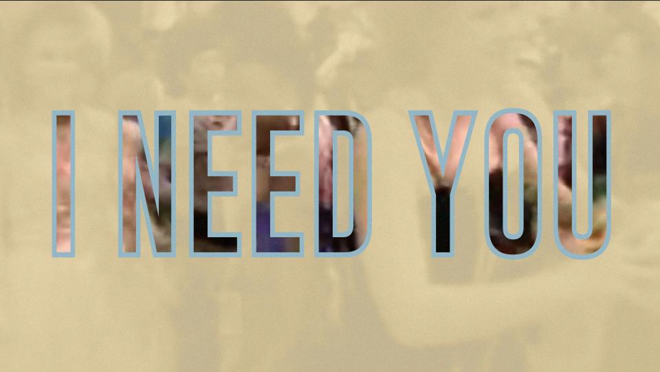 I NEED YOU V4